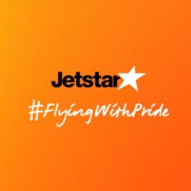 Jetstar #FlyingWithPride